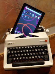 Digitalisierung: Tablet ersetzt Schreibmaschine